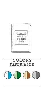 """4.625"""" x 7"""" Loose Leaf"""