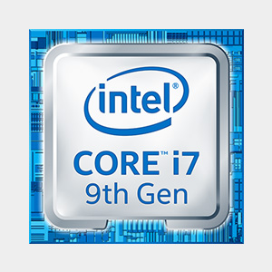 Intel i7 9th gen