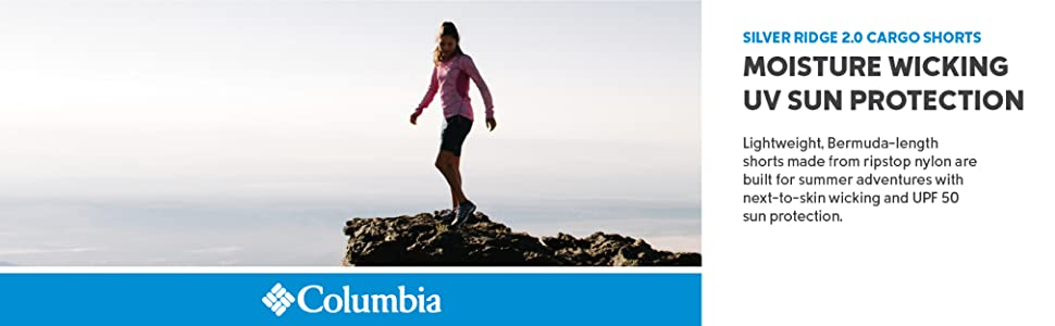 Columbia Women's Silver Ridge 2.0 Cargo Shorts