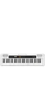 Casio CT-S200RD - Teclado de piano, Rojo: Amazon.es ...