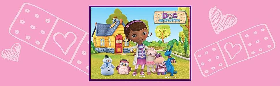 Amazon Com Disney Junior Girls Toy Rug Carnival Doc
