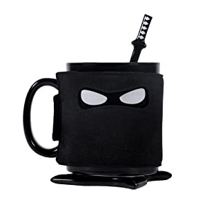 hero;mugs;cup;tasse;cuisine;family;collection;creative;cadeau;multicolore;criminel;ninja;noir
