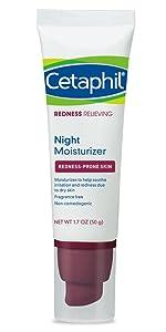 Cetaphil Redness Relieving Night Moisturizer