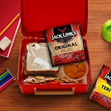 Imagine of Jack Links snack pack in a lunch box