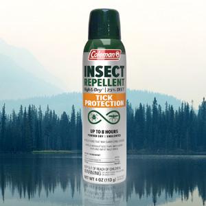 Coleman Tick Protection Dry 25% DEET 4oz