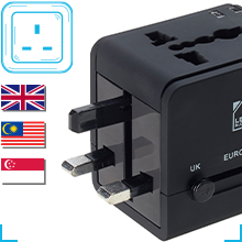 shutters compact charger universal socket power walls adapter for Europe London European new Zealand
