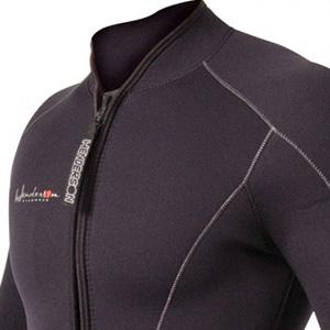 front back zip