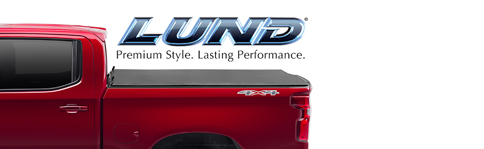 Amazon Com Lund Genesis Tri Fold Soft Folding Truck Bed Tonneau Cover 95072 Fits 2009 2014 Ford F 150 5 7 Bed 67 Automotive