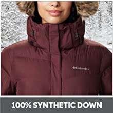 100% Synthetic Down Insulation