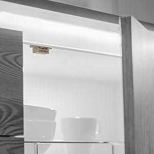 Emuca 1275315 Cierre magnético con placa para puerta de mueble, blanco, Set de 20 piezas: Amazon.es: Bricolaje y herramientas