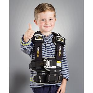 Black Vest on Boy