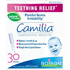 Camilia, Camilia teething, natural teething relief, baby teething medicine