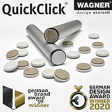 QuickClick ... voor elk meubel en elke vloer.