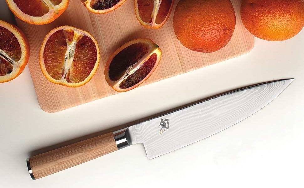 shun classic, classic chef knife, shun chef knife, classic knifes