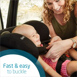 Fast and easy to buckle