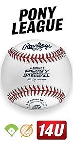 Amazon com : Rawlings 10U Youth Baseballs, (Box of 12), R10U