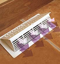 Imperial 4 Quot X 10 Quot Pop Up Floor Register Almond Rg3055