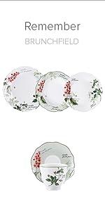 ... Vajilla porcelana Brunchfield colección Remember Q2383 Q2385 ...