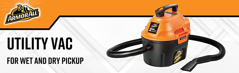 Armor All wet dry vac utility 2 hp