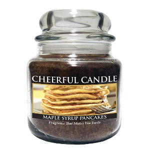 24oz Maple Syrup Pancakes Jar Candle