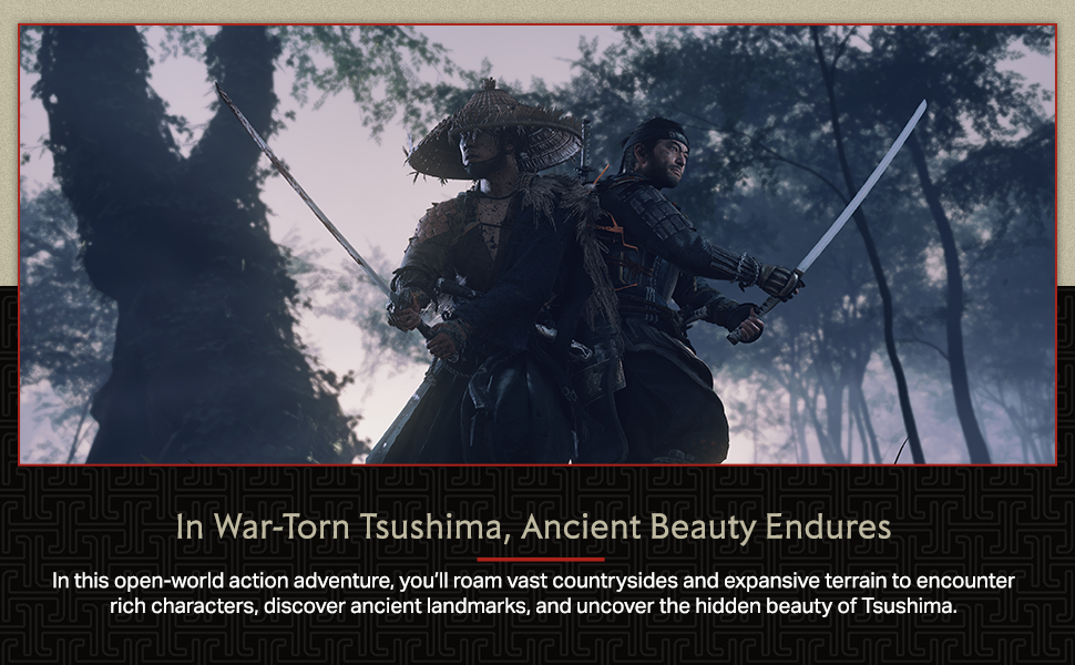 ghost of tsushima ps4 playstation