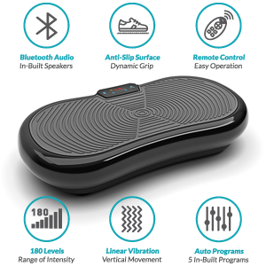 Bluefin Fitness Ultra Slim Vibration Plate