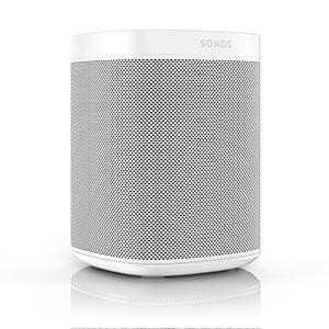 Sonos One - Altavoz Inteligente con Control por Voz de Amazon Alexa, Conexión Wifi y Compatibilidad con AirPlay en Dispositivos iOS, Color Blanco