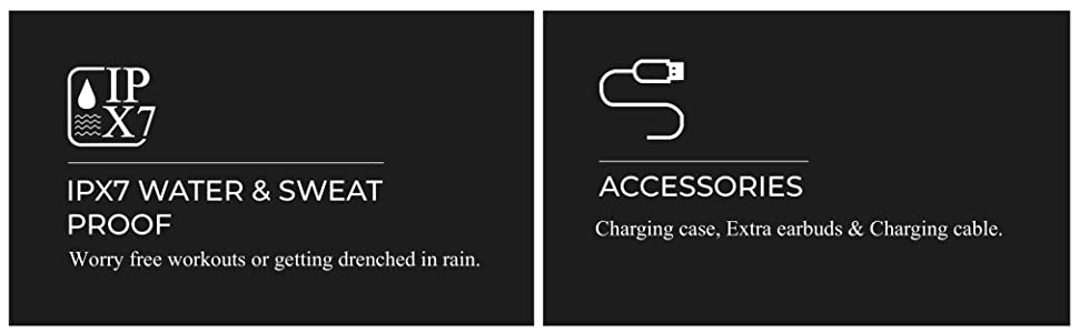 IPX7 Waterproof, Boult Audio, Wireless, True Wireless, Tru5ive, Bluetooth 5.0, First time in india