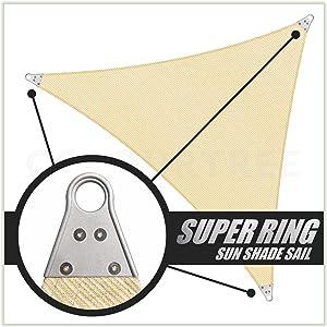 Super Ring Sun Shade Sail