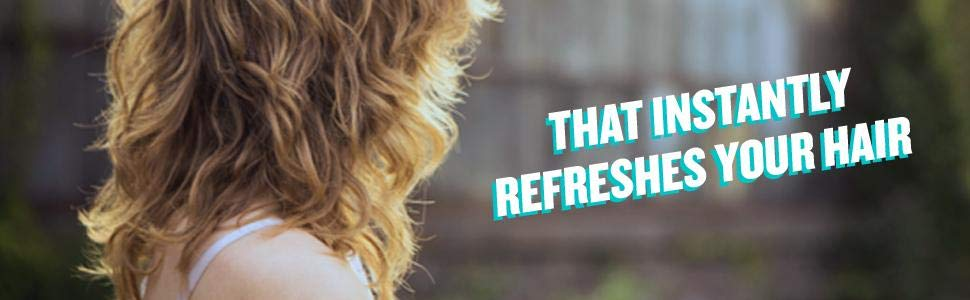 Batiste instantly refreshes your hair