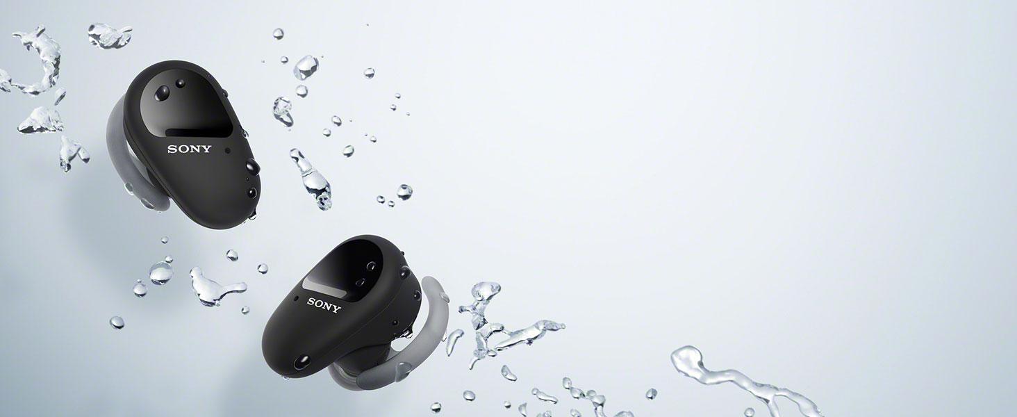 Sony Wf Sp800n Vollkommen Kabellose Sport Kopfhörer Elektronik