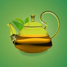 100 % des ingrédients de ce thé sont d'origine naturelle, feuilles, touches végétales, goût léger