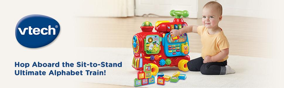 Vtech Sit To Stand Ultimate Alphabet Train Theshopvillecom Baby