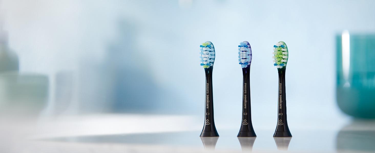 Philips Sonicare DiamondClean Smart HX9901/13 - Cepillo de dientes eléctrico con App de formación personalizada, sensor de presión, 4 modos, 3 ...