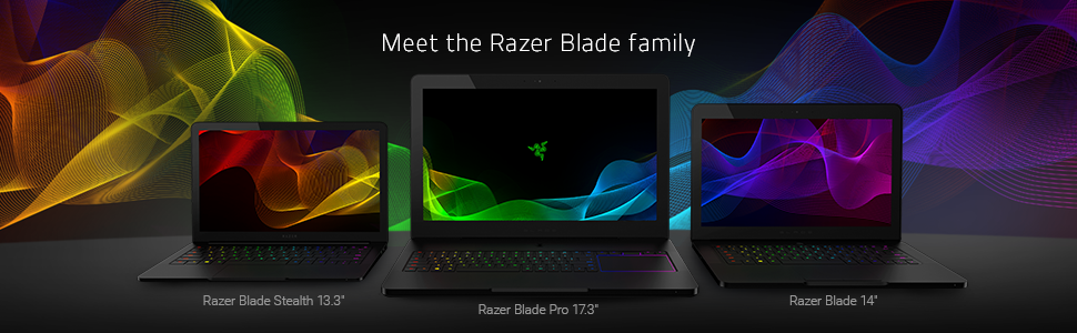 The Razer Gaming Laptop Family