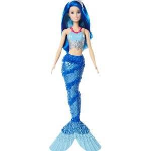 Amazon.es: Barbie Dreamtopia, muñeca Sirena azul, juguete