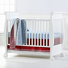 Bacati Plaids/Stripes Blue/Red/Navy Bedding Collection