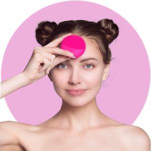cepillo limpiador facial inteligente