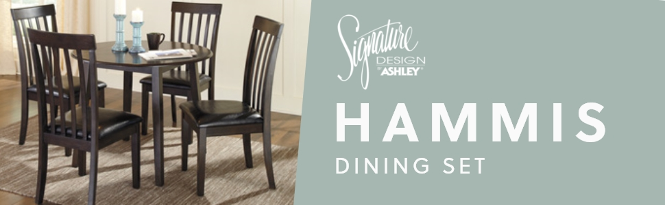 hammis dining room set signature design by ashley furniture casual