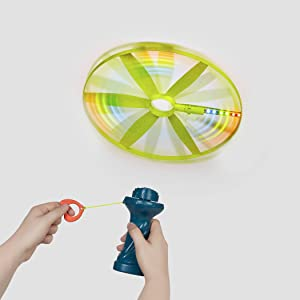 battat b toys camping frisbee flying light-up skyrocopter accessories set kids fun toddler 4 5 6 7 8