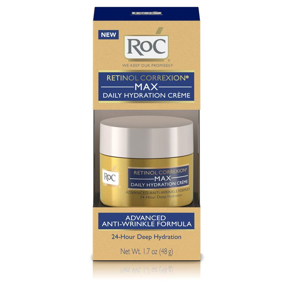 roc retinol correxion max daily hydration anti aging cr me for 24 hour deep. Black Bedroom Furniture Sets. Home Design Ideas