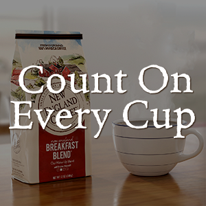Count on every cup NEC