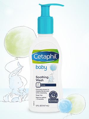 Cetaphil Baby Eczema Soothing Wash
