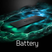 94wh battery; long hour battery life; high efficiency