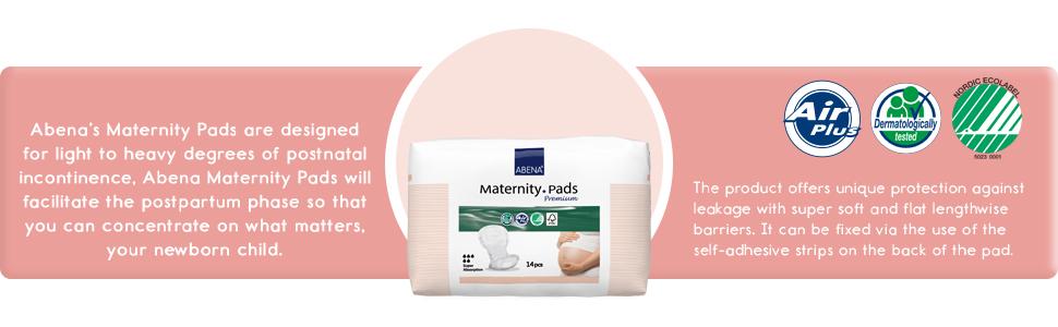 Informations sur les coussinets de maternité :