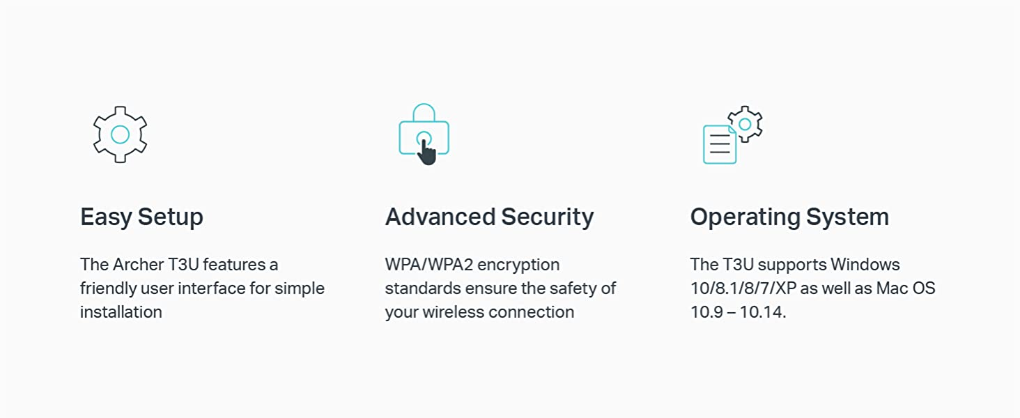 Image result for Easy Setup A friendly user interface on a CD for simple installation Advanced Security WPA/WPA2 encryption standards ensure wireless connection's safety. Operating System Supports Windows, Mac OS, Linux