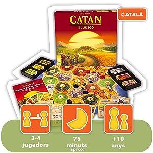Devir - Catan, juego de mesa - Idioma catalán (BGCAT): Amazon.es: Juguetes y juegos