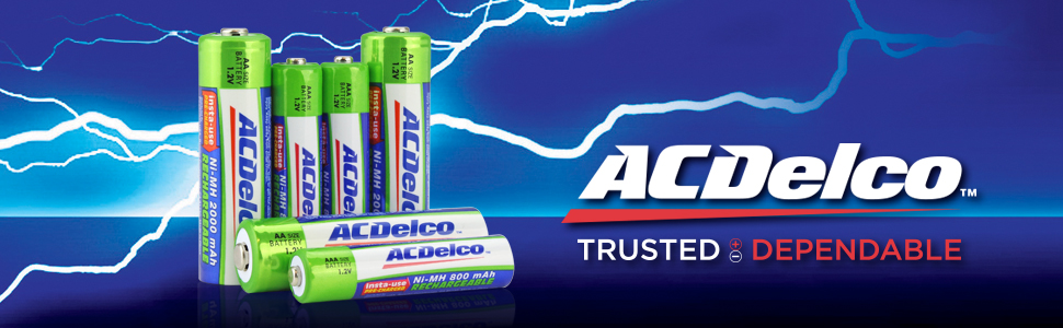 ACDelco Rechargeable Batteries