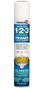 Bulls Eye 1-2-3 Turbo Spray Primer