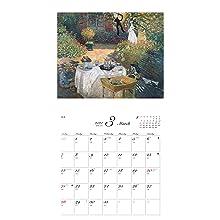 カレンダー2021 名画と暮らす12ヶ月 モネ